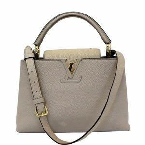 LOUIS VUITTON Capucines PM Taurillon Leather Bag